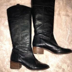 Women's Louise ET CIE Black Leather Boots